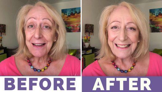 Makeup for Older Women: My $15 Palette Makeover + a New L'Oréal Foundation