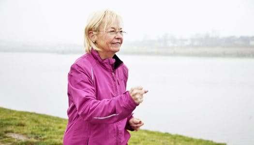 A Brisk Walk and Good Food Make Up the Recipe for Longevity