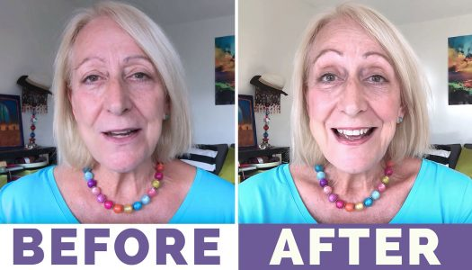 A Quick and Easy Makeup for Mature Women Tutorial… Sparkle in Just 2 Minutes!