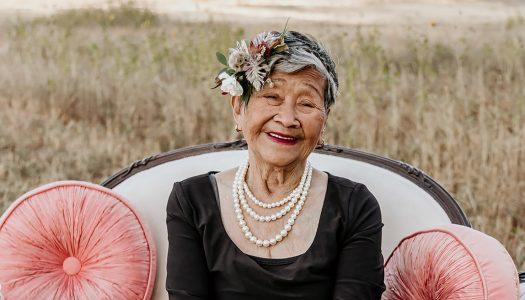 A Stylish 95th Birthday Celebration