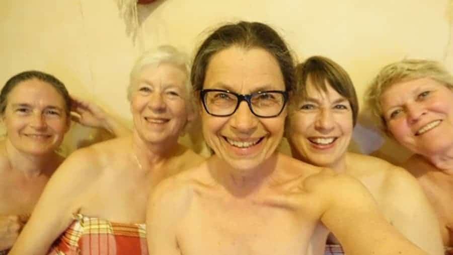 Ladies in the Turkish bath