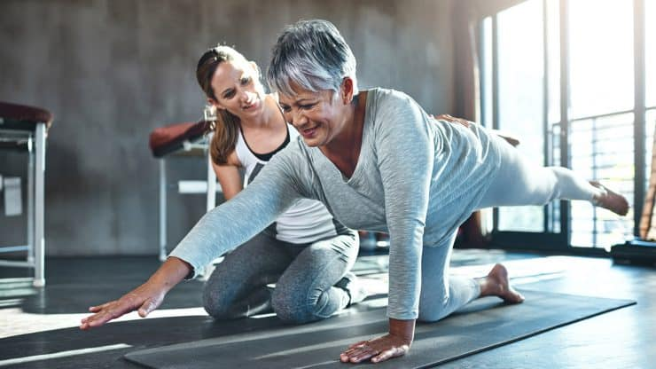 How Boomer Women Can Make Use of Biomechanics to Exercise Without Pain