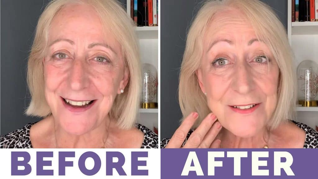 My Shine and Sparkle Makeup for Older Women Tutorial