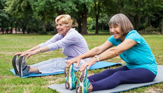 Relaxing Yoga for Seniors Practice: Focus on Lower Back (Part 3/8): FULL 37-Min Class