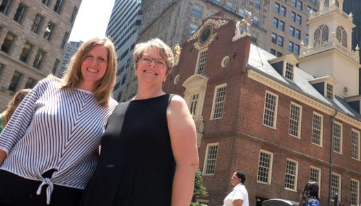 Two Longtime Teachers Get a Well-Deserved Reward… and Share it with Their Students