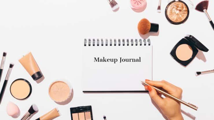 makeup journal