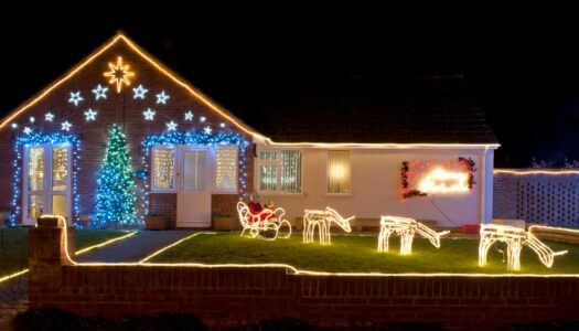Safe Installation of Christmas Decoration – Inside and Outside