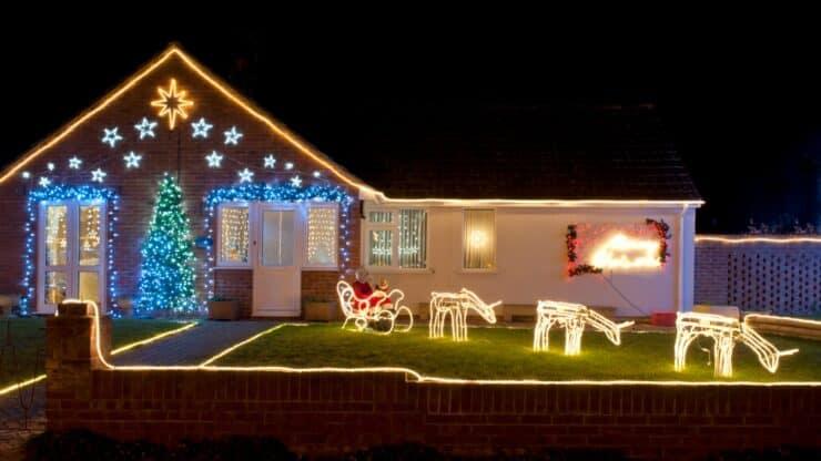 Safe installation of Christmas Decoration