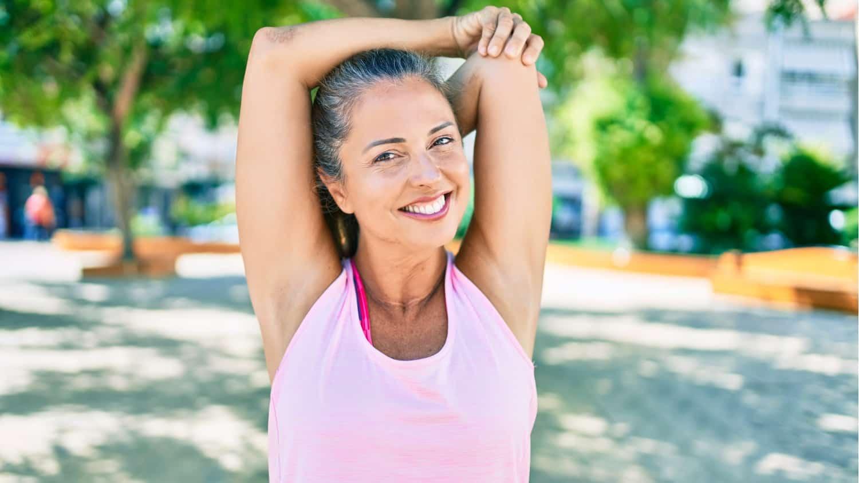 starting fitness mature age